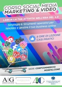 Corso social media marketing e video
