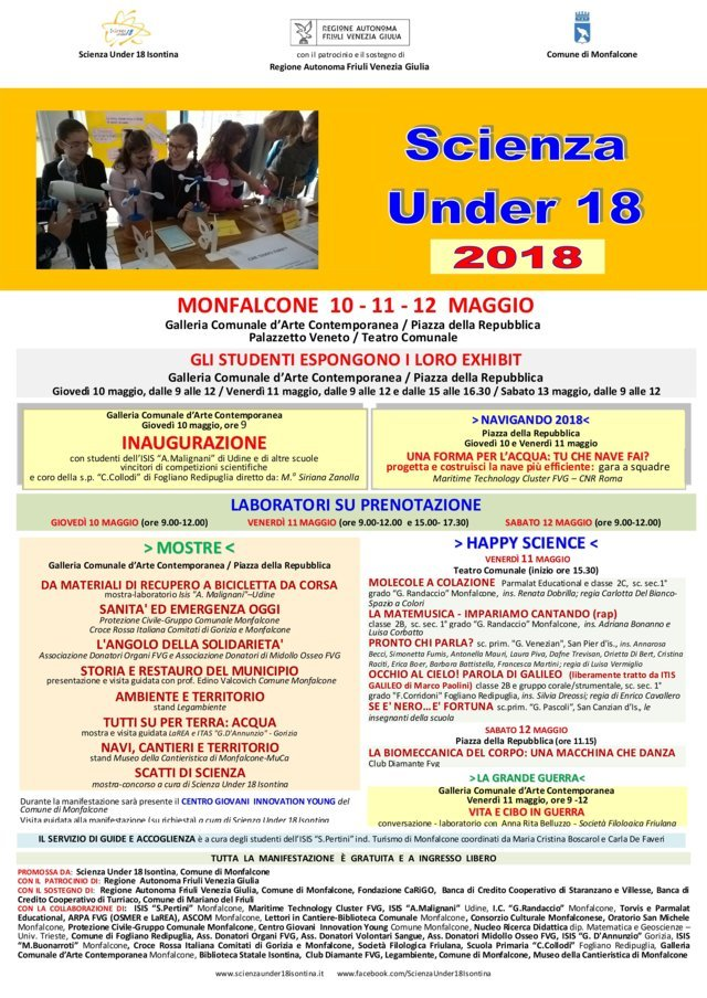 SCIENZA UNDER18 mini